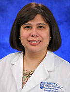 A head-and-shoulders photo of Raquel E. Davila, MD